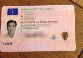 Buy Swedish Driver's License